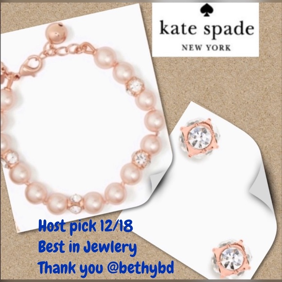 kate spade Jewelry - Kate Spade lady Marmalade bracelet & Earring